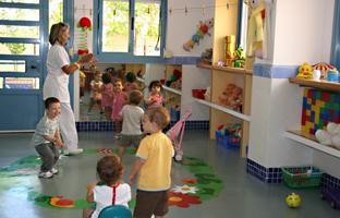 Aula de Educación Infantil. Foto: Junta de Andalucía.