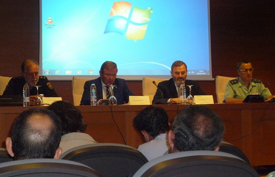 Reunión celebrada para coordinar el dispositivo de prevención de la caza furtiva.