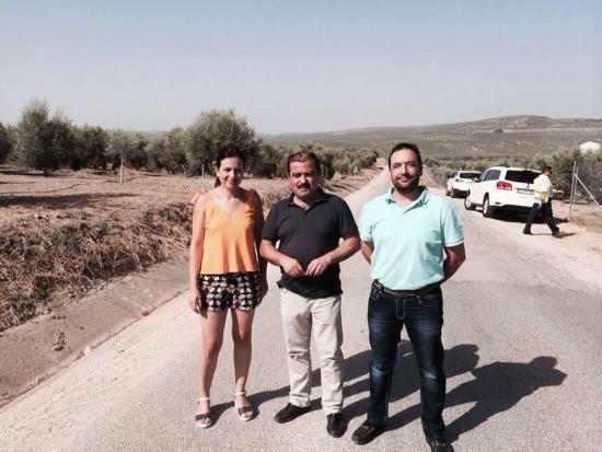 Isabel Uceda, José Castro y Francisco Javier Madero visitan estas obras.