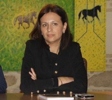 La alcaldesa de Lopera, Isabel Uceda.