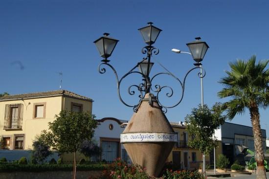 Casco histórico de Arjonilla.