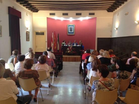 Numeroso público de Andújar acudió a este acto. Foto: Ayto. Andújar.