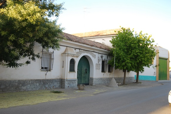 Fachada del antiguo Cuartel de la Guardia Civil, en Villanueva de la Reina.