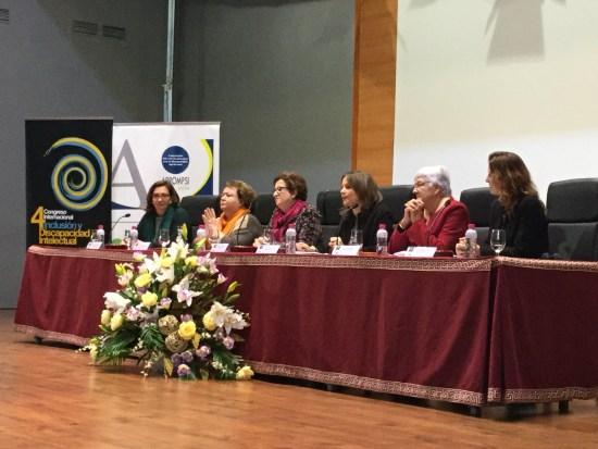 """Acto de inauguración del IV Congreso Internacional """"Inclusión y Discapacidad Intelectual"""" ."""