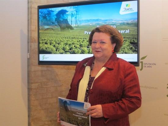 Pilar Parra ha presentado el Presupuesto de la Diputación para 2017