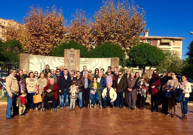Foto de familia de todos los asistentes a este acto celebrado en Andújar.