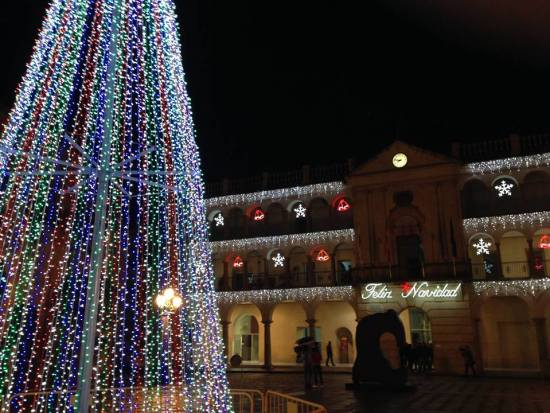 Alumbrado navideño en Andújar. Foto: Ayto. Andújar.