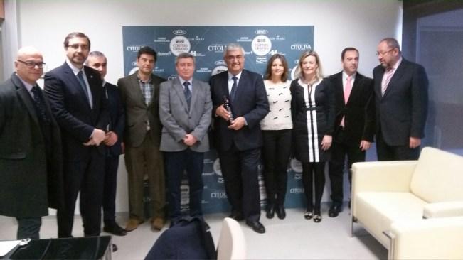 El consejero de Economía y Conocimiento, Antonio Ramírez de Arellano, ha visitado las instalaciones de Citoliva.