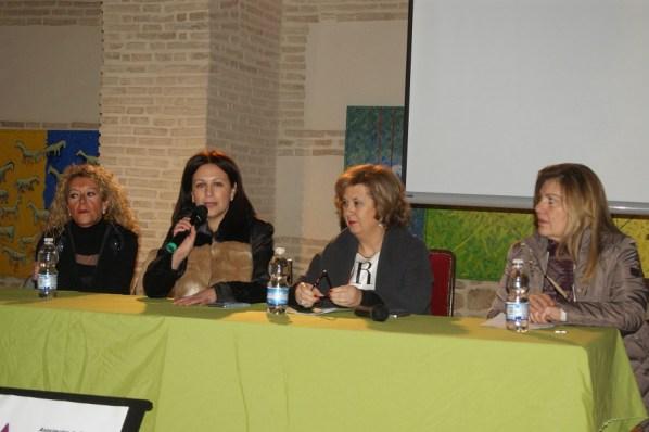 Carmen Torres, Isabel Uceda, Teresa Vega y Nani Martínez.