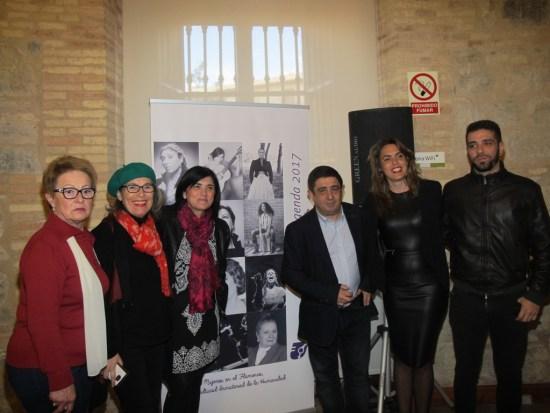 La Diputación ha acogido la presentación de esta agenda editada por la Plataforma Andaluza de Apoyo al Lobby Europeo de Mujeres.