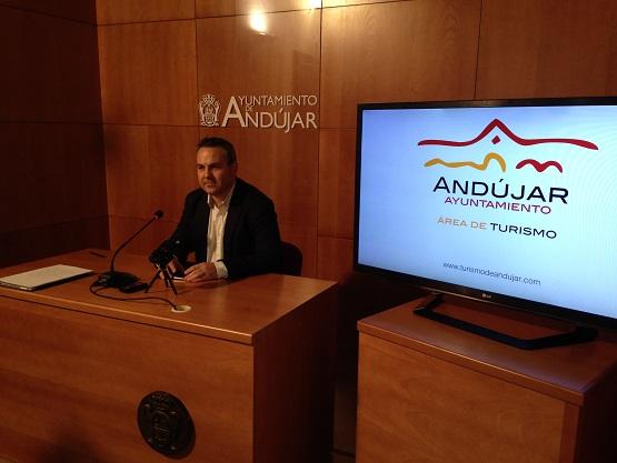 El concejal de Turismo del Ayuntamiento de Andújar, Jesús del Moral.