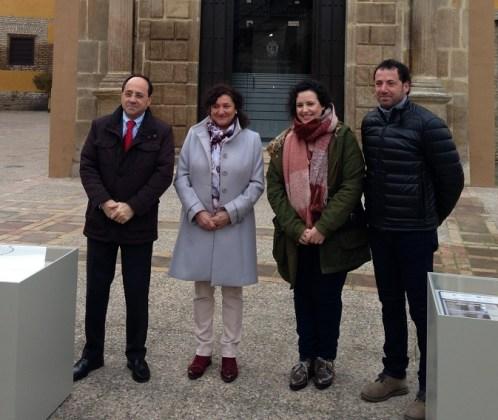Miguel González, María José Bueno y Macarena Teruel han presentado el proceso de restauración.