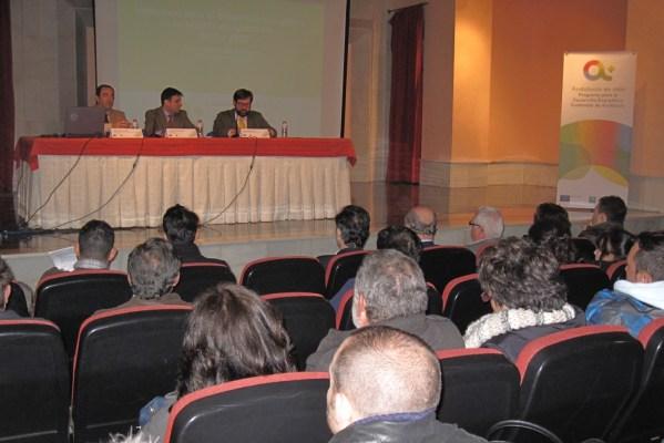 Cristóbal Sánchez  ha presentado hoy en Jaén el nuevo Programa de Incentivos para el Desarrollo Energético Sostenible de Andalucía.