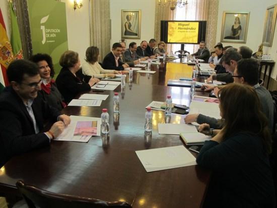 Reunión del comité organizador de este aniversario.