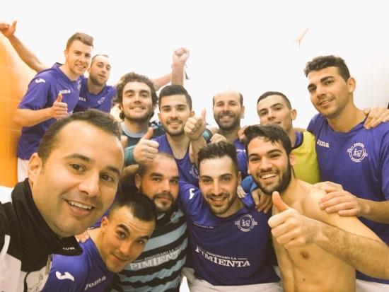 Equipo de AD Porcuna Futsal.