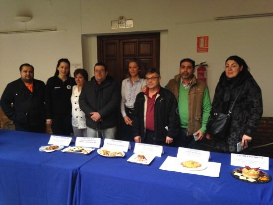 """Acto de presentación de la """"VII Ruta de la Tapa"""" en Andújar."""