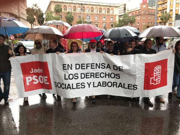 Manifestación del 1 de mayo en Jaén