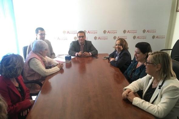 Convenio de colaboración entre el Ayuntamiento de Andújar y Aprompsi