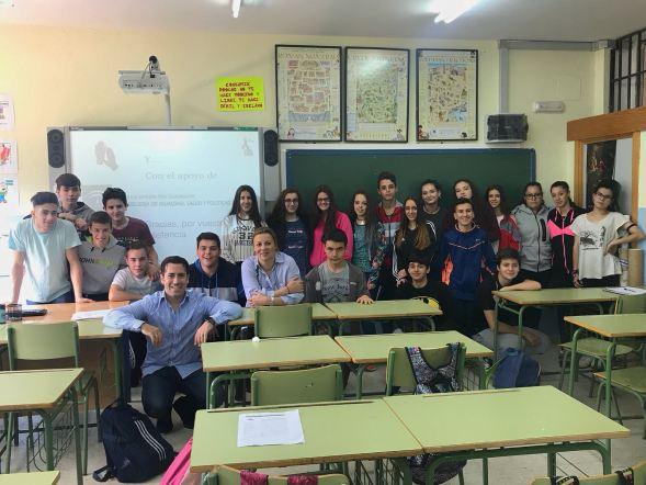 Charla sobre el Sida en Andújar