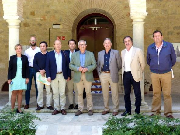Mesa del sector de la Construcción en Jaén