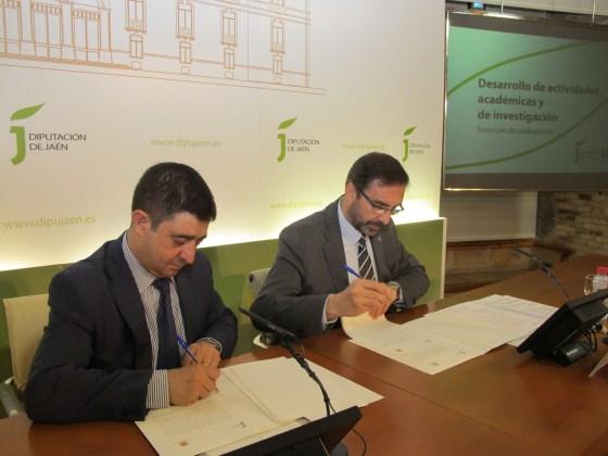 colaboración de la Diputación con la UJA