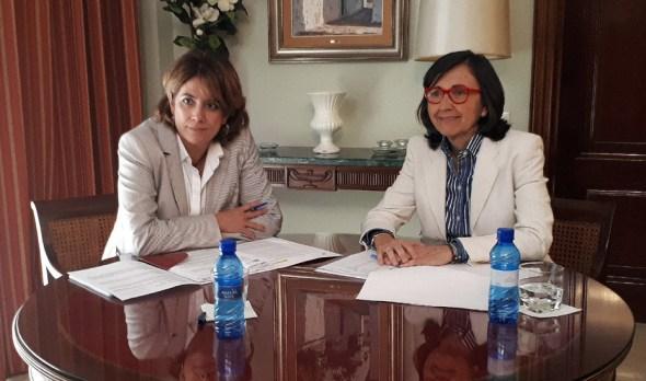 La ministra y la consejera de Justicia en Jaén