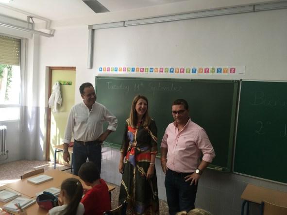 curso escolar en Andújar