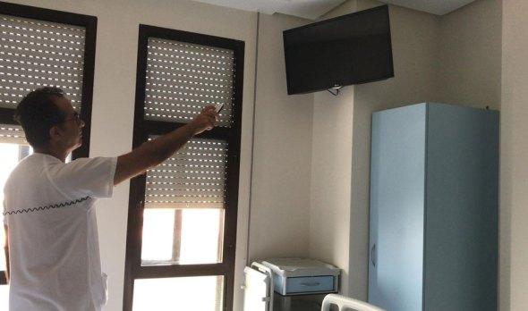 televisión gratis en los hospitales