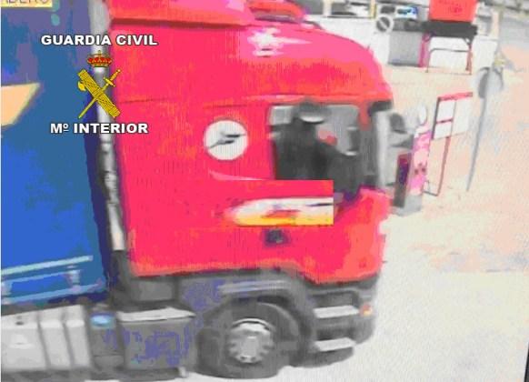 Robo de un camión en La Carolina