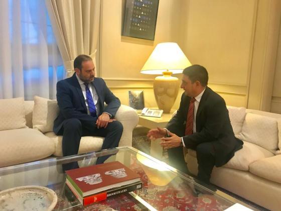 El presidente de la Diputación se reúne con el ministro de Fomento