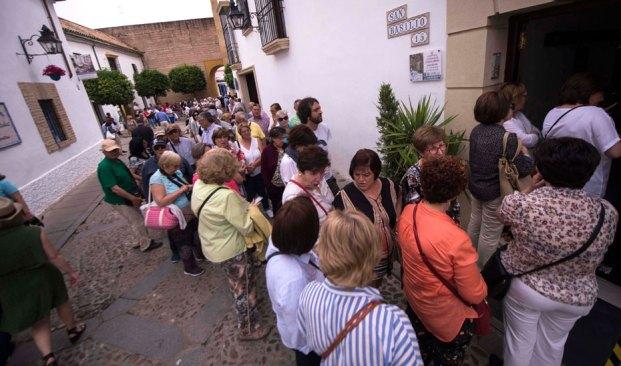 turistas en Andalucía