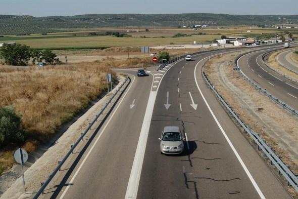 Dispositivo de tráfico para el Puente de la Constitución