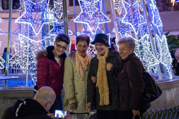 Alumbrado navideño en Torredonjimeno