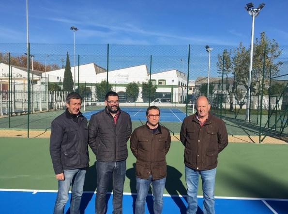 Nuevas pistas de tenis en Andújar