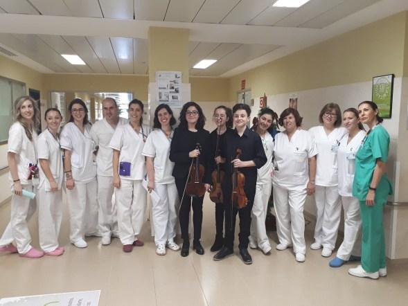 Música en el Hospital de Andújar