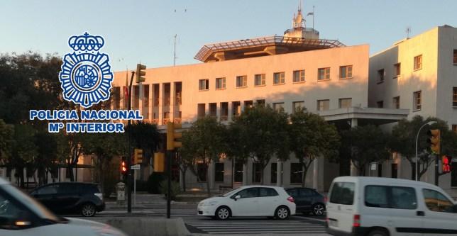 estafa en piso de Málaga