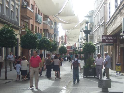 Luz verde de la Consejería de Cultura al plan de Regeneración del Paseo de Colón de Andújar.