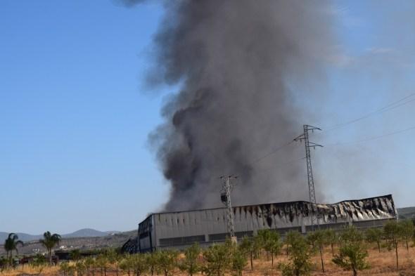 Incendio en Villa del Río