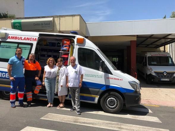 Enfermeros del distrito sanitario de Jaén-Jaén Sur