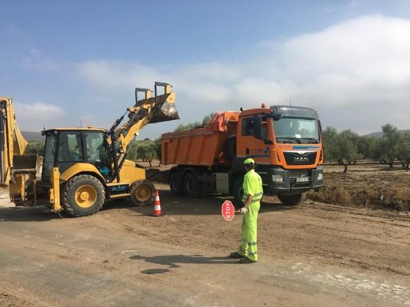 Obras en carreteras de Andalucía