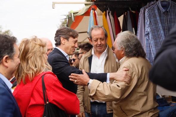 Rafael Hernando visita Andújar