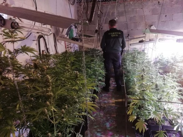 Marihuana en Úbeda