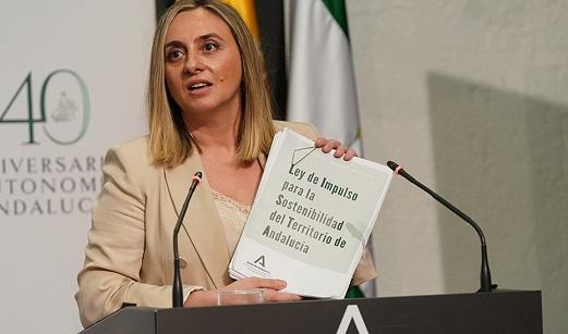La Ley de Impulso para la Sostenibilidad del Territorio de Andalucía inicia su tramitación.