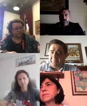 Francisco Reyes se reúne con los alcaldes de Arjonilla, Lopera, Begíjar, Castellar, Ibros, Jamilena, Rus y Sabiote.