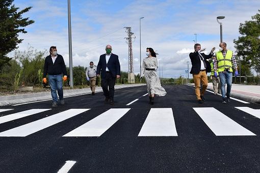 La Junta termina en plazo la construcción del nuevo vial del Conservatorio Superior de Música.