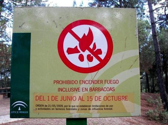 Prohibidas las barbacoas y quemas agrícolas