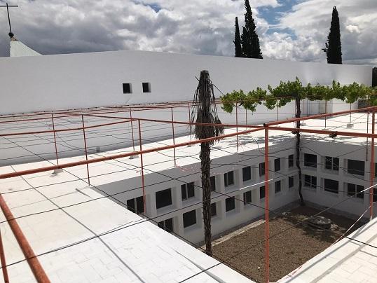 Las obras en el antiguo seminario de Andújar para su adaptación a Centro Socio-Asistencial avanzan a buen ritmo.