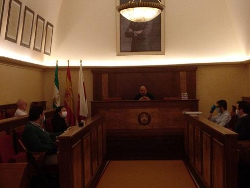 El Ayuntamiento de Andújar se reúne con las asociaciones de comerciantes para evaluar la situación y poner en marcha medidas para la reactivación del sector.