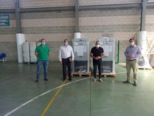 Diputación apuesta por reducir emisiones de CO2 con una inversión de 3,5 millones de euros para instalar 52 calderas de biomasa.