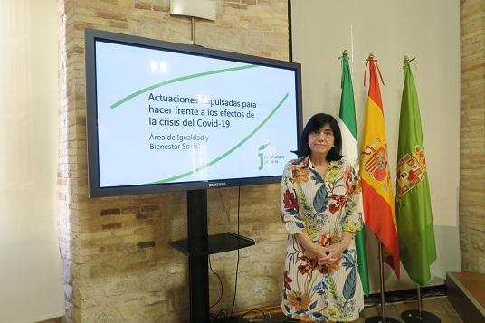 La Diputación ha intensificado su atención a familias y personas más vulnerables durante la pandemia.